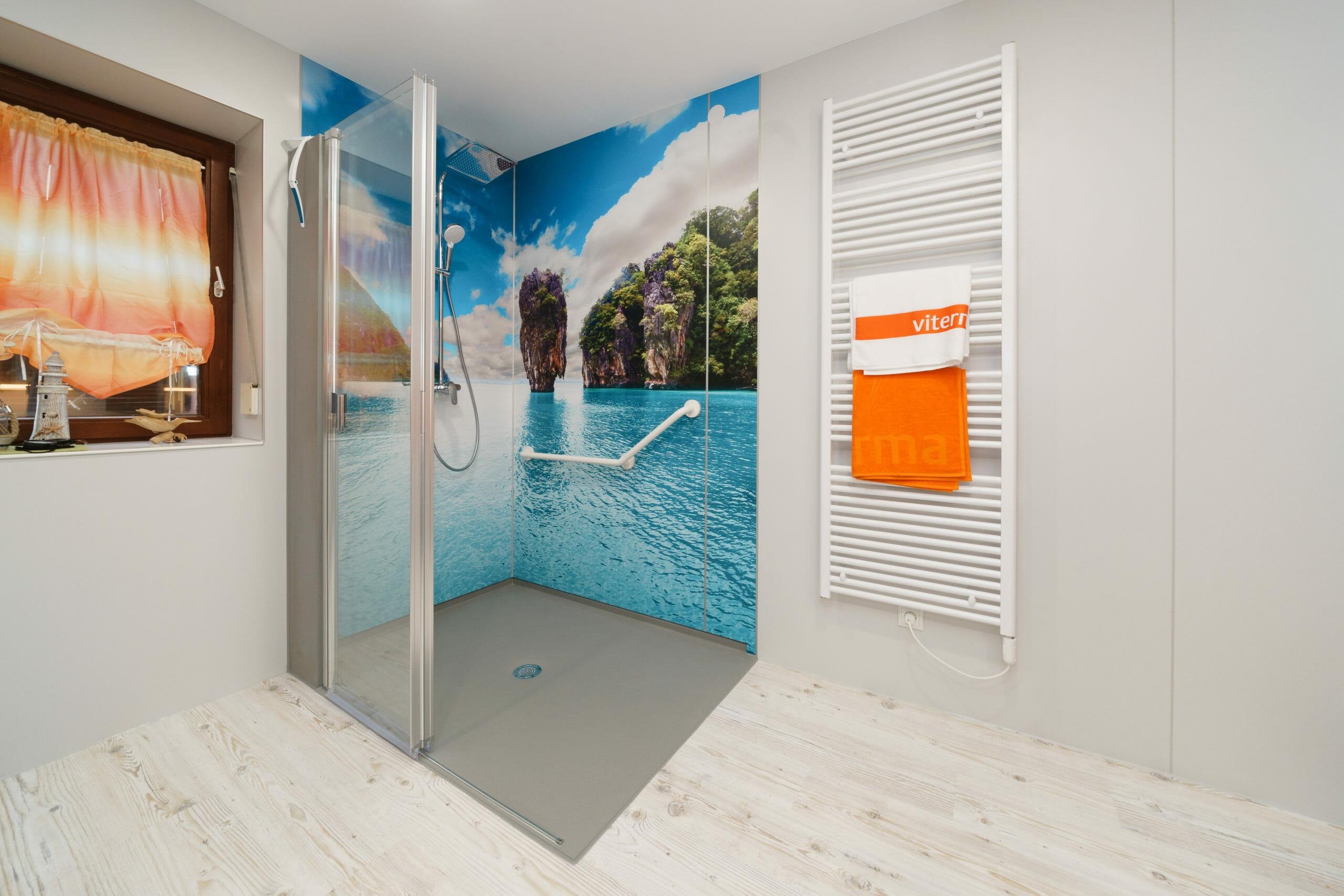 Badsanierung-Ideen.com Beispiel fugenlose Wandgestaltung