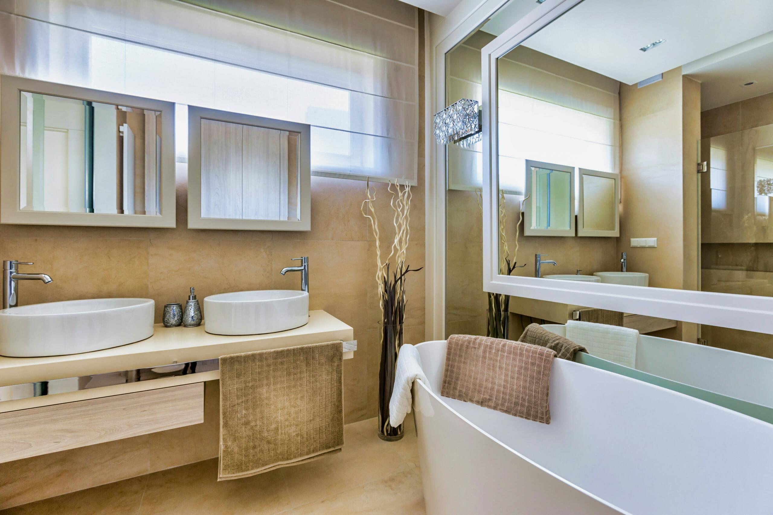Badideen modernes Badezimmer