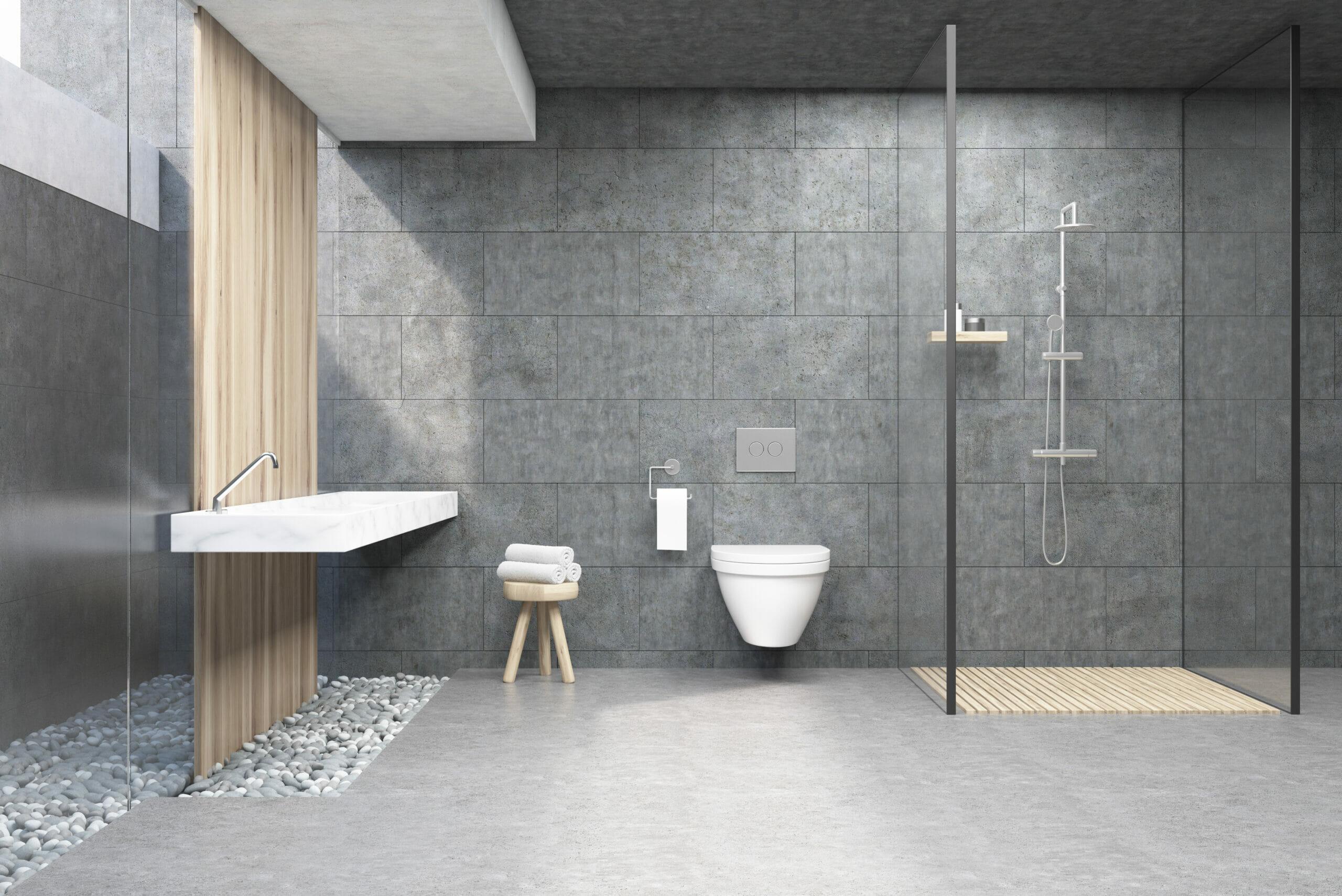 Badsanierung Ideen barrierefreie Dusche