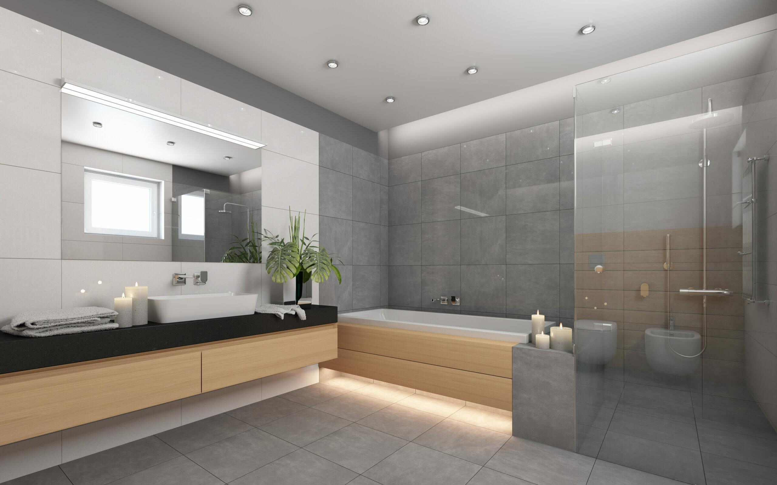 Bildergalerie: Badfliesen Ideen für Ihr Badezimmer - Badsanierung