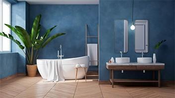 Komplettbadsanierung mit Badewanne